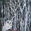 Owl Among Birches - $300