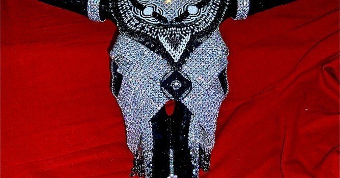 RhineStone Boy Cow - $400 - Plus shipping